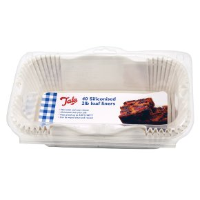 Tala siliconised 2lb loaf liners