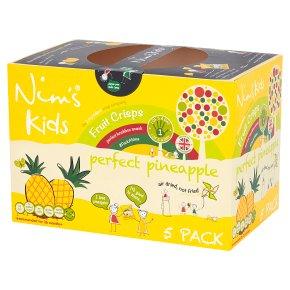 Nim's Kids Fruit Crisps Perfect Pineapple