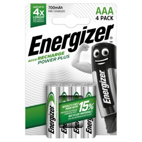 Energizer Recharge Power Plus AAA 4.2v
