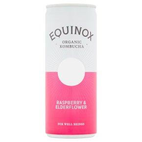 Equinox Organic Kombucha Raspberry