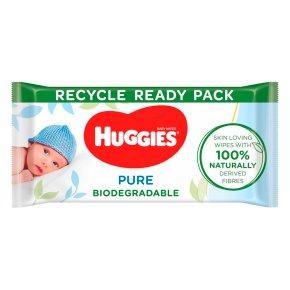 Huggies Pure Biodegradable Wipes