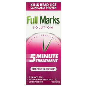 Full Marks 5 Minute Treatment
