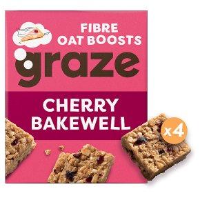 Graze Fibre Oat Boosts Cherry Bakewell