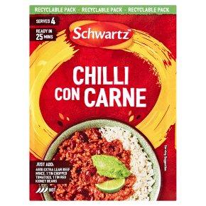 Schwartz Recipe Mix Chilli Con Carne