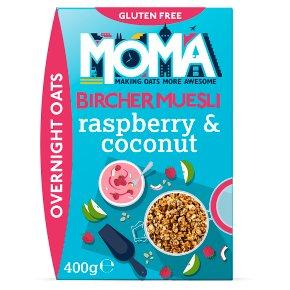 MOMA Bircher Muesli Raspberry & Coconut