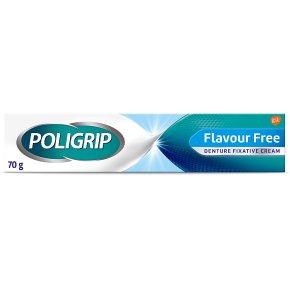 Poligrip Flavour Free Cream