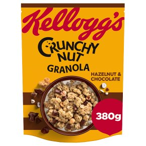 Kellogg's Crunchy Nut Granola Hazelnut & Chocolate