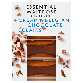 Essential Belgian Chocolate Éclairs