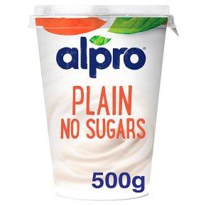 Alpro Plain No Sugars Yoghurt Alternative