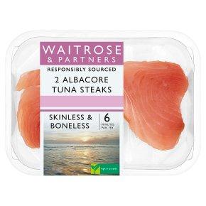 Waitrose 2 Albacore Tuna Steaks