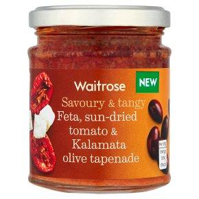Waitrose Feta, sun-dried tomato & olive tapenade