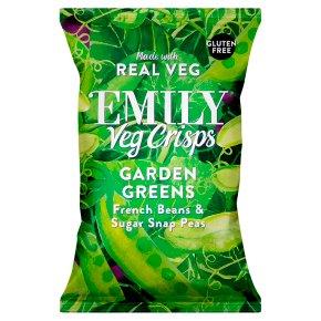 Emily Veg Crisps Garden Greens