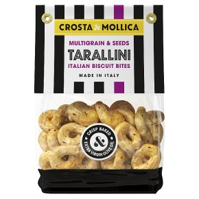 Crosta & Mollica Tarallini Multigrain & Seeds Dough Ring