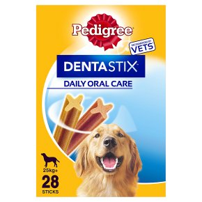 Pedigree Dentastix 28 sticks 25+kg