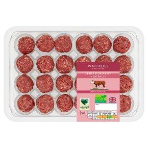Waitrose 24 Hereford Beef Meatballs
