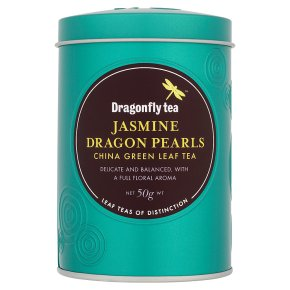 Dragonfly Jasmine Dragon Pearls China Green Leaf Tea