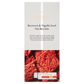 No.1 Beetroot, Nigella & Seed Oat Biscuits