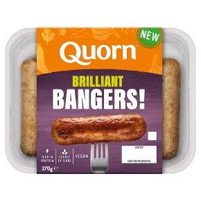Quorn Brilliant Bangers