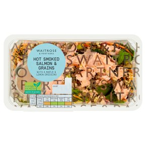 Waitrose Hot Smoked Salmon & Grains