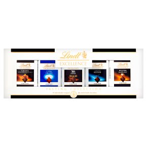Lindt Excellence Tasting Collection