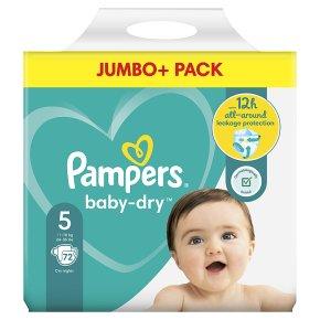 Pampers Baby Dry Jumbo Pack 5