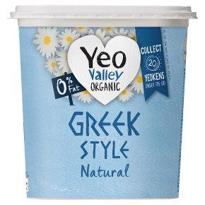 Yeo Valley O% Fat Natural Greek Style Yogurt