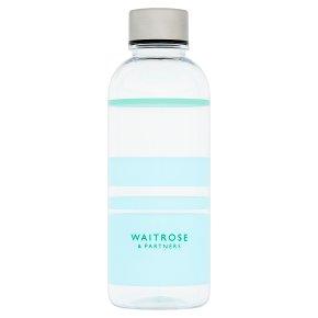Waitrose Tritan Water Bottle Blue Stripe
