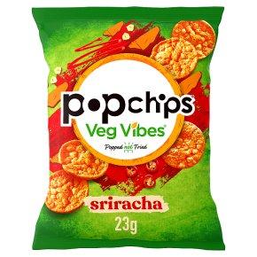 popchips veg vibes sriracha Crisps