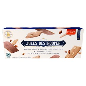 Jules Destrooper Almond Thins & Belgian Chocolate