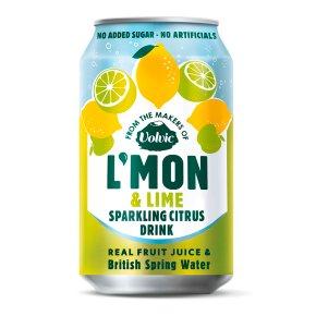 L'mon & Lime Sparkling Citrus Drink
