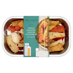 Waitrose Maple Roasted Winter Vegetables