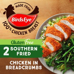 Birds Eye 2 Gluten Free Southern Chicken