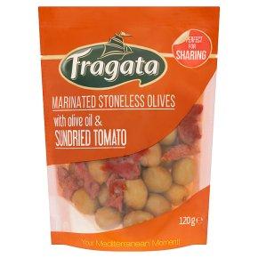 Fragata Marinated Stoneless Olives with Sundried Tomato