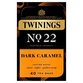 Twinings No.22 Dark Caramel 40 Tea Bags