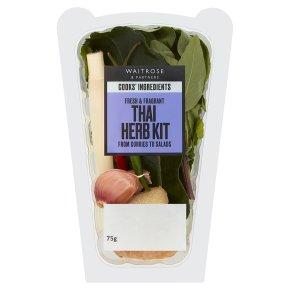Waitrose Classic Thai Recipe Herb Kit