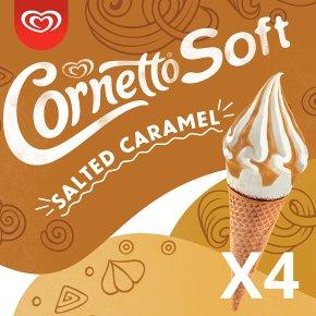 Cornetto Soft Salted Caramel