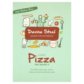 Davina Steel Pizza Mix