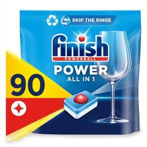 Finish All In One Dishwasher Tablets Lemon