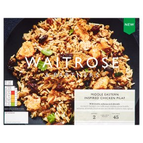 Waitrose Middle Eastern Chicken Pilaf