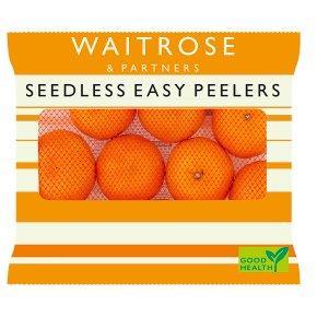 Waitrose Seedless Easy Peelers Clementines