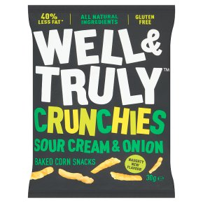 Well & Truly Crunchy Sour Cream & Onion