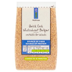 Waitrose LOVE Life Wholewheat Bulgur