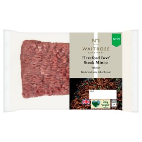 No.1 Hereford Beef Steak Mince 10% Fat