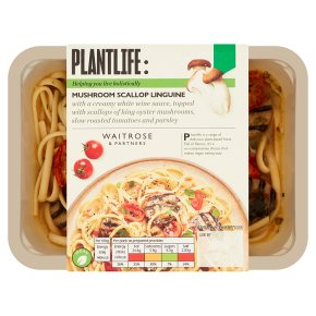 Plantlife: Mushroom Scallop Linguine