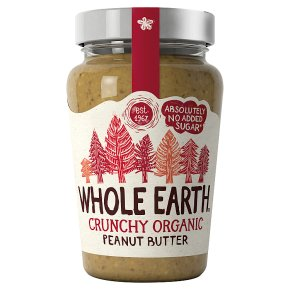Whole Earth Crunchy Organic Peanut Butter