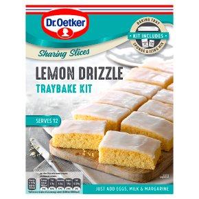 Dr.Oetker Lemon Drizzle Traybake Kit