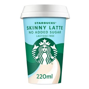 Starbucks Skinny Latte No Added Sugar