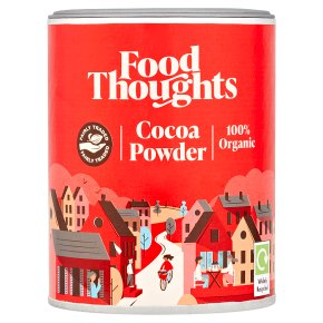 Food Thoughts Fairly Traded Organic Cocoa Powder