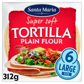 Santa Maria 6 Plain Tortillas