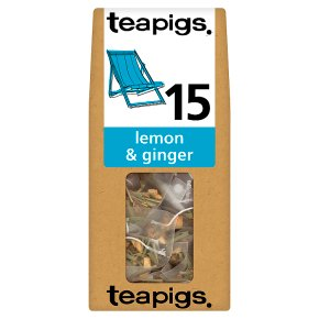 Teapigs Lemon & Ginger Tea 15 Tea Temples